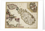 Map of Malta, Gozo and Comino by Frederik de Wit