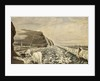 Shipwrecks at James Town and the Harbour, Saint Helena by T. Picken