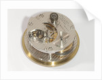 Marine chronometer, movement by Hamilton Watch Co.
