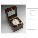 Marine chronometer in case by Mercer