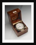 Marine chronometer in case by Johannsen