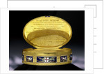 City of London Freedom box presented to Vice-Admiral Charles Thompson (1740?-1799) for his services as second-in-command at the Battle off Cape St Vincent 14 February 1797 by James Morisset