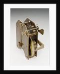 Astronomical regulator, movement back by Edward Edward John Dent & Co.