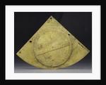 Obverse of Gunter quadrant by John Prujean