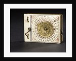 Diptych dial, leaf Ia by Leonhard Andreas Karner
