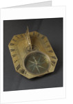 Butterfield dial for latitudes 35-60 North by Chapotot