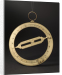 Universal equinoctial ring dial by Dollond