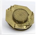 Augsburg dial, underside by Andreas Vogler