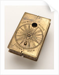 Astronomical compendium, leaf Ia by Hans Ducher