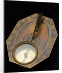 Butterfield dial for latitudes 35˚-60˚ north by Chapotot