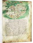 Chart of Paxos by Cristoforo Buondelmonti