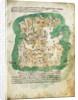 Chart of Cephalonia by Cristoforo Buondelmonti