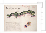 Quillota and Valpariso, South American Pacific coast by William Hack