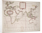 A new and correct sea chart of the whole world showing the variations of the compass as they were found in the year 1700 by Edmond Halley