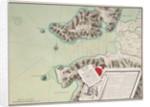 Map of the bay and city of S. Phelipe de Portobelo by Luis de Surville