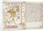 16th century map of county Limerick, Ireland by Anonymous