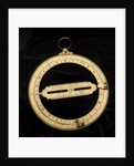 Universal equinoctial ring dial by Nathaniel Witham
