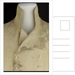 Non-regulation waistcoat worn by Horatio Nelson (1758-1805) at Trafalgar by unknown
