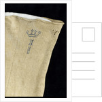 Non-regulation stockings worn by Horatio Nelson (1758-1805) by unknown
