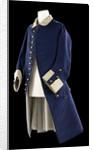 Royal Naval uniform: pattern 1748-1758 by unknown