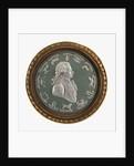 Circular portrait medallion by unknown