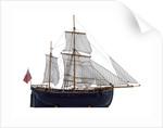 Full hull model, herring buss by Alistair Brown