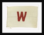 House flag, Wyre Trawlers by unknown