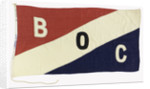 House flag, Burmah Oil Co. (Tankers) Ltd by unknown