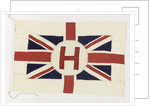 House flag, Houston Line Ltd by unknown