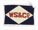 House flag, William Sloan & Co. by unknown