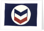 House flag, Chevron Steamship Co. by unknown