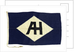 House flag, Blue Funnel Line by unknown