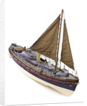 Full hull model, Watson lifeboat, starboard by unknown