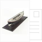 Full hull model, lifeboat, port by David Harvey
