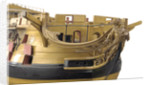 74-gun two-decker ship of the line, figurehead by unknown