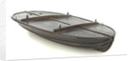 Full hull model, collapsible lifeboat by G. L. Berthon