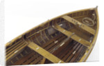 Full hull model, dinghy, interior detail by unknown