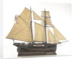 HMS 'Renard', starboard broadside by J.W. Owlett
