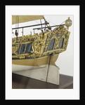 'Prinz Van Oranje', stern detail by unknown