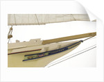 'Privateer', bow, trail board detail by J.A. Thompson