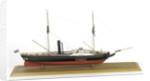 HMS 'Lightning', starboard broadside by John Roe