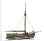 'Mary', starboard broadside by Kenneth Britten