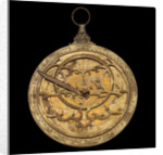 Replica astrolabe by R. Lucas-Dean