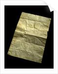 A handwritten note concerning pitch by Alexander Stewart Herschel