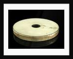 Speculum metal disc by William Herschel