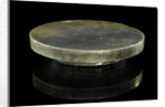 A Newtonian primary mirror of speculum metal with a focal length of 1ft 6ins by William Herschel