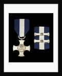 Distinguished Service Cross, with two bars, obverse by Garrard & Co.