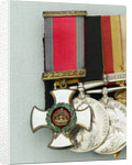 Distinguished Service Order 1886-1901, obverse by W. Wyon