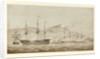 HMS 'Wellesley', HMS 'Columbine' and HMS 'Grisel' by William Joy
