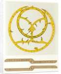 Cardboard astrolabe kit with instructions for assembly by Glenn Ellen Scientific Company
